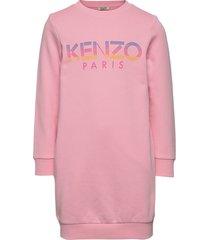 logo jg 7 sweat-shirt trui roze kenzo