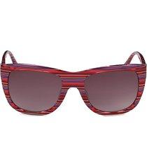 m missoni women's 55mm square sunglasses - fuchsia
