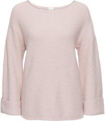 maglione con maniche svasate (rosa) - bodyflirt