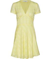 cindy short dress 10866 kort klänning gul samsøe samsøe