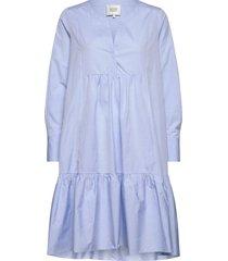 heaven ls midi dress knälång klänning blå second female