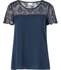 blus vimero lace s/s top
