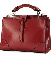 negozio online b81a2 0c0c1 borsa a tracolla a tracolla tote vintage elegante da donna borsa crossbody  borsa