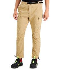 inc men's nylon sports pants, created for macy's