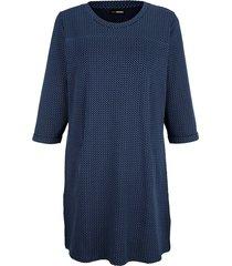 sweatshirt miamoda marine::lichtblauw