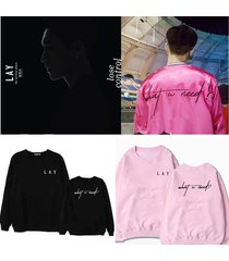 kpop exo sweater lay what u need sweatershirt lose control hoodie pullover