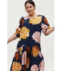 klänning mluna s/s blk dress