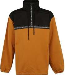 mcq alexander mcqueen high neck drawstring jacket