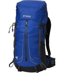 mochila columbia trail elite 35l backpack azul - azul - dafiti