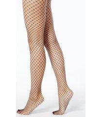 dkny women's open fishnet tights