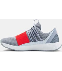 zapatilla gris under armour breathe lace nm2 mujer gris