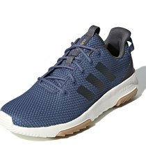 tenis azul adidas cloudfoam racer tr tech ink / grey six / light granite f34865