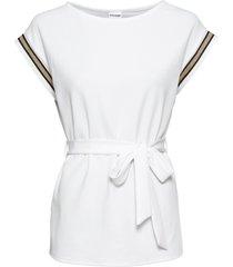 maglia con cintura (bianco) - bodyflirt
