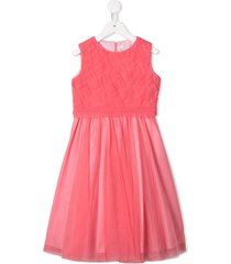 aletta tulle skirt party dress - pink