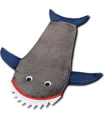 saco de dormir infantil cobertor tubarã£o manta shark - cinza - dafiti
