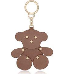 llavero motif en color marrónmulticolor