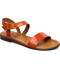 sandals 8714 shoes summer shoes flat sandals orange billi bi