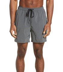 men's tommy bahama naples islandactive swim trunks, size xx-large - grey