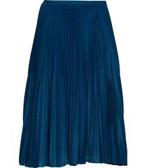 juliette skirt 10798 knälång kjol blå samsøe samsøe