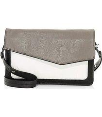 cobble hill colorblock leather shoulder bag
