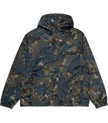 terra jacket satellite print