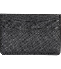 "a.p.c. designer men's bags, ""andre"" card holder"
