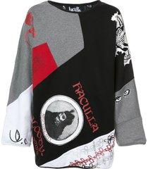 haculla gallery reversible sweater - grey