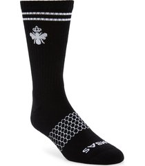 men's bombas burchar socks, size large - black