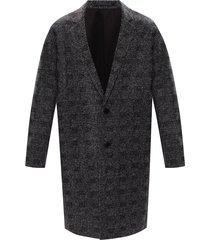 'remmington' notched lapel coat