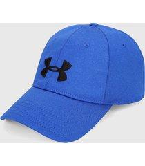 gorra azul-negro under armour  twist