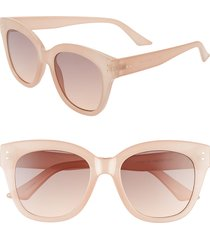 women's bp. 66mm oversize sunglasses - milky nude