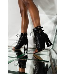 akira azalea wang all you have to do is say so bootie in black