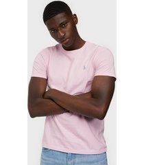 polo ralph lauren polo short sleevet-shirt t-shirts & linnen pink