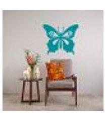 adesivo de parede - linda borboleta - medio