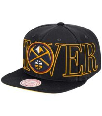 mitchell & ness denver nuggets winners circle snapback cap