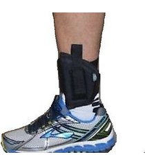 """pro-tech left handed ankle gun holster for beretta 84,85,.380 with 3.6"""" barrel"""