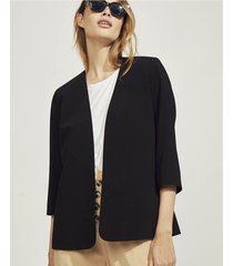 blazer negro portsaid sastrero night garzon