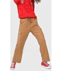 pantalón marrón 47 street camboya