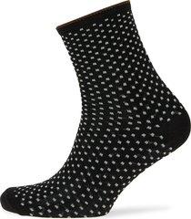 dina small dots lingerie hosiery socks svart becksöndergaard