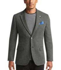 nautica gray herringbone modern fit sport coat