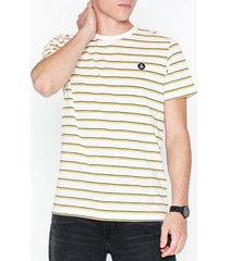 jack & jones jorstanford tee ss crew neck t-shirts & linnen vit