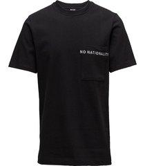 piero 3348 t-shirts short-sleeved svart nn07