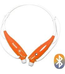 audífonos inalámbricos, collar auricular inalámbrico audifonos bluetooth manos libres  en el oído estéreo audifonos bluetooth manos libres  4.0 headband neckband (amarillo)