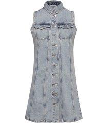 enspartacus sl dress 6742 dresses jeans dresses blå envii