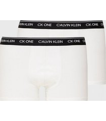 calvin klein underwear trunk 2pk boxershorts vit