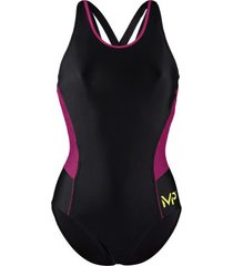 michael phelps badpak women camilya black bright purple-maat 44
