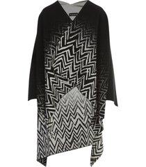 emporio armani reversible shawl