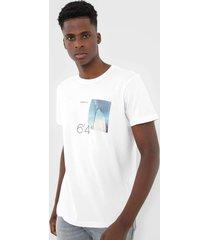 camiseta osklen surfing branca - branco - masculino - algodã£o - dafiti