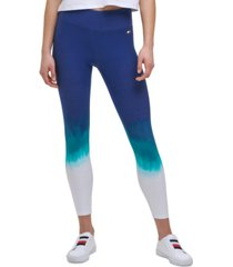 tommy hilfiger sport ombre 7/8 length leggings