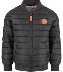 mini rodini black and grey boy jacket